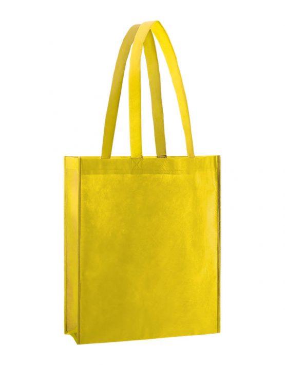 PP Tasche City Bag 2 mit langen Henkeln in Gelb | Druckerei Dorsten.de