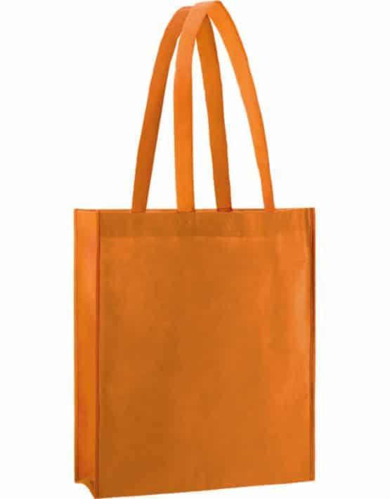 PP Tasche City Bag 2 mit langen Henkeln in Mandarin | Druckerei Dorsten.de