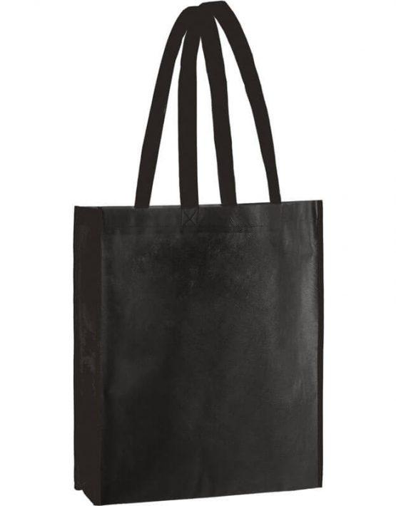 PP Tasche City Bag 2 mit langen Henkeln in Schwarz | Druckerei Dorsten.de