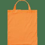 Mandarin Baumwolltasche mit 2 kurzen Henkeln
