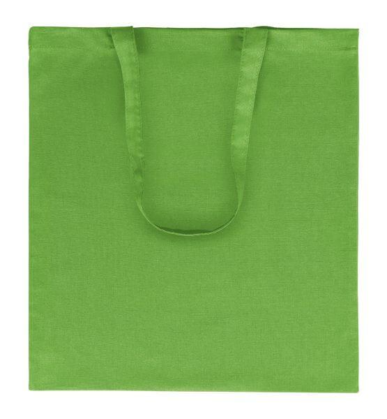 Goprom Baumwolltaschen lange Henkel apple green apfelgrün 38 x 42 cm 2314