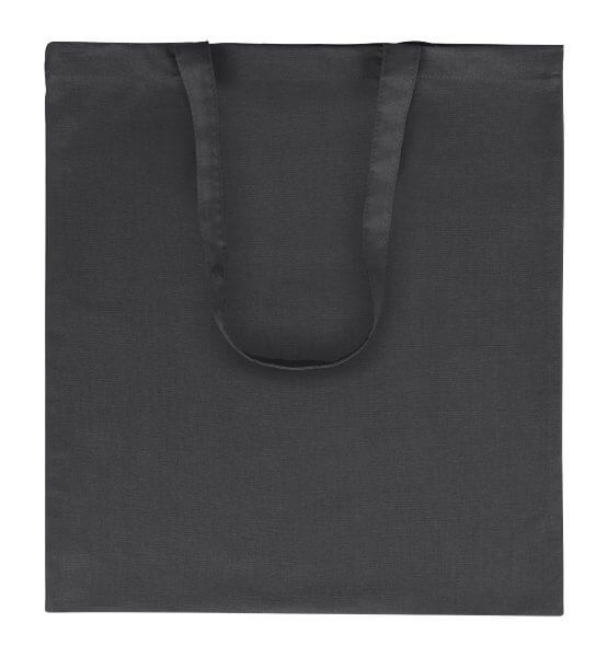 Goprom Baumwolltaschen lange Henkel schwarz 38 x 42 cm 2314