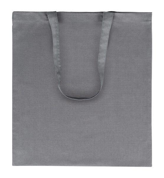 Goprom Baumwolltaschen lange Henkel grey grau 38 x 42 cm 2314