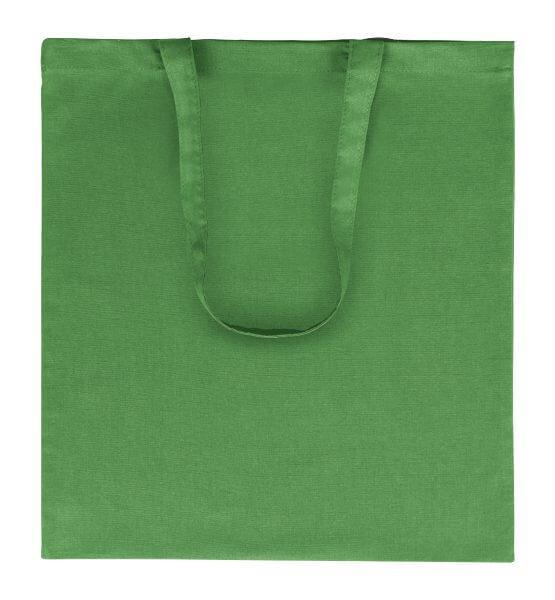 Goprom Baumwolltaschen lange Henkel GREEN grün 38 x 42 cm 2314