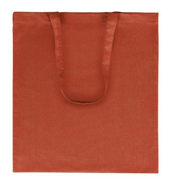 Goprom Baumwolltaschen lange Henkel red rot 38 x 42 cm 2314
