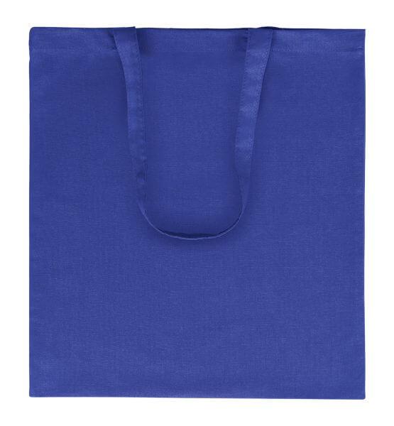 Goprom Baumwolltaschen lange Henkel royal königsblau 38 x 42 cm 2314