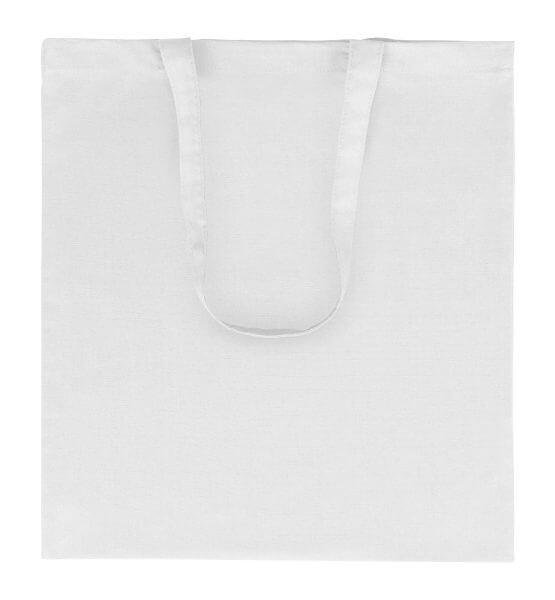 Goprom Baumwolltaschen lange Henkel white weiss 38 x 42 cm 2314