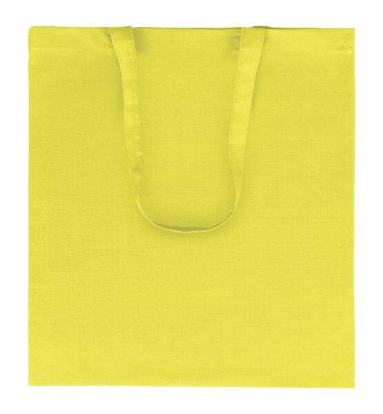Goprom Baumwolltaschen lange Henkel yellow gelb 38 x 42 cm 2314