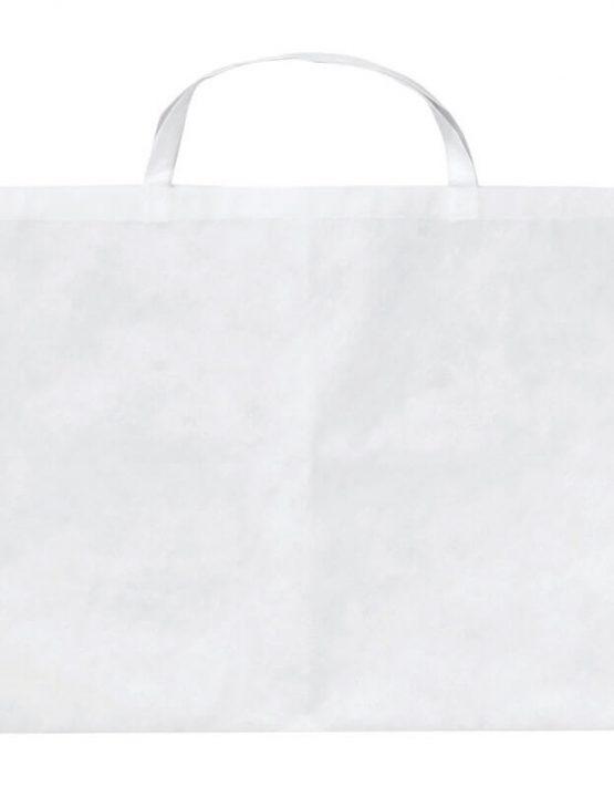 PP-Tasche 70x50 cm kurzen Henkeln weiß | Druckerei Dorsten