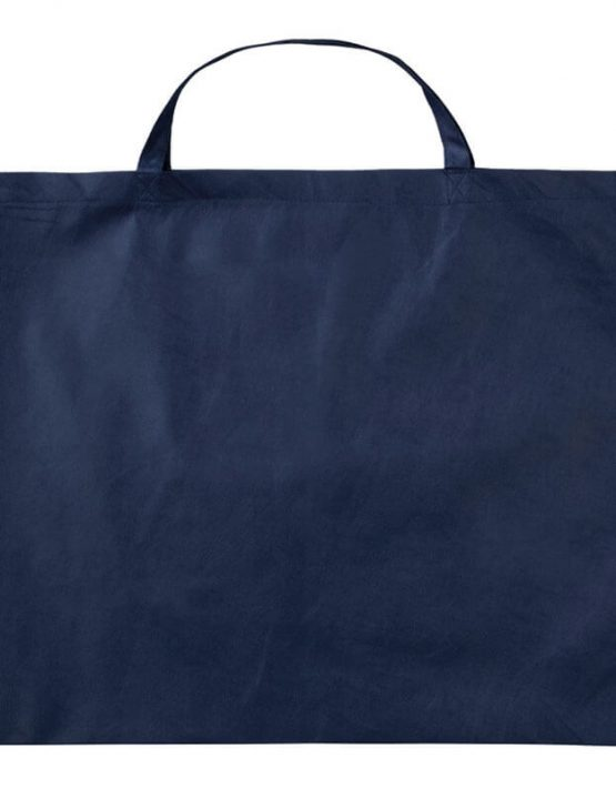 PP-Tasche 70x50 cm kurzen Henkeln Dunkelblau | Druckerei Dorsten