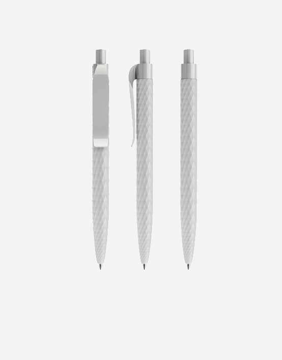 Prodir QS01 kugelschreiber New Pattern Pen Bright Congrete Grey