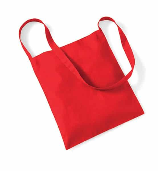 Sling Bag for Life in Bright Red | Westford Mill