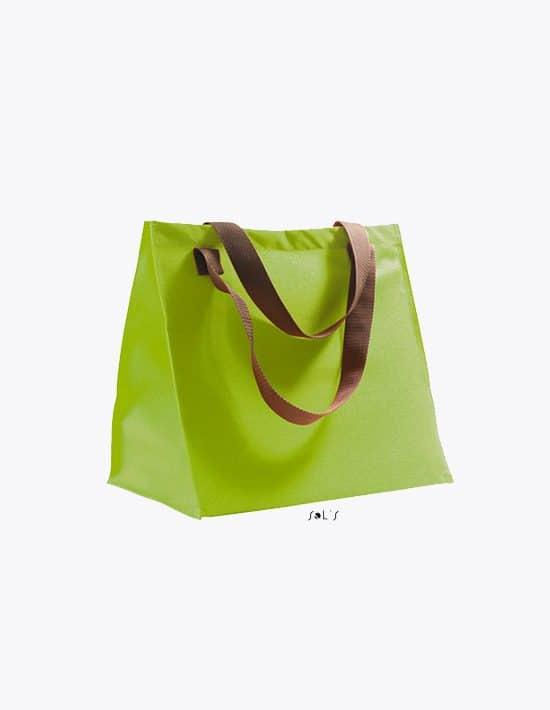 Shopping Bag Marbella Apple Green