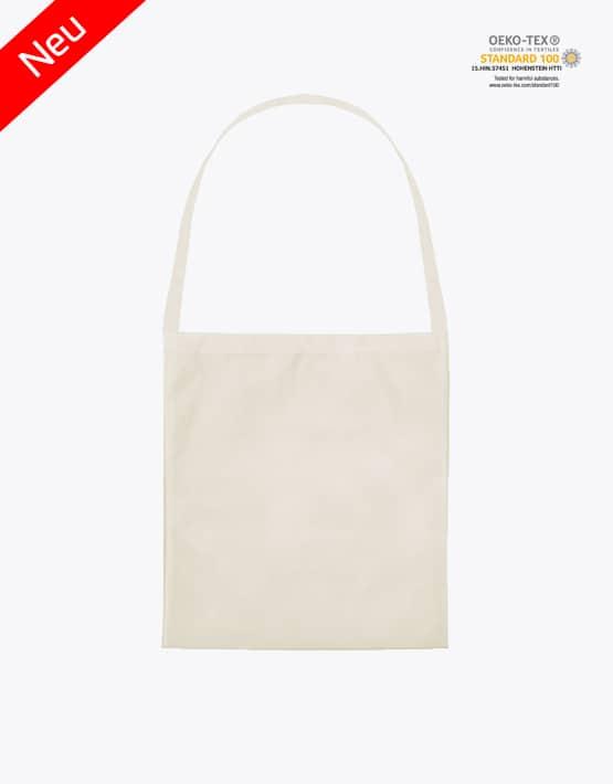Baumwolltasche Classic mit einem langen Henkel 38421-L Natur