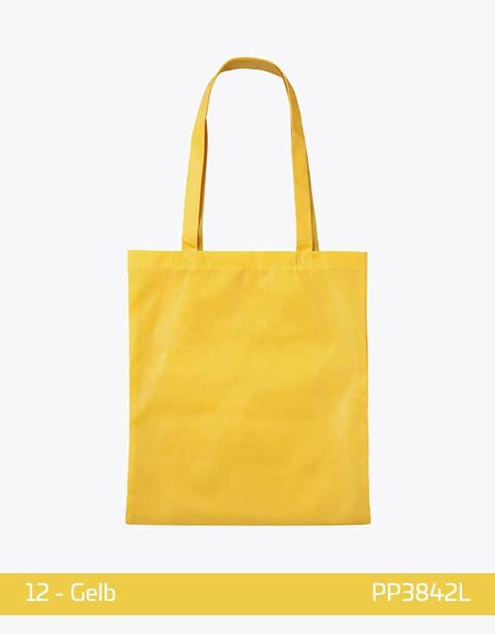 PP Tasche lange Henkel Gelb
