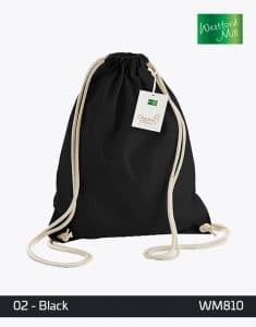 EarthAware Organic Gymsac WM810 Black