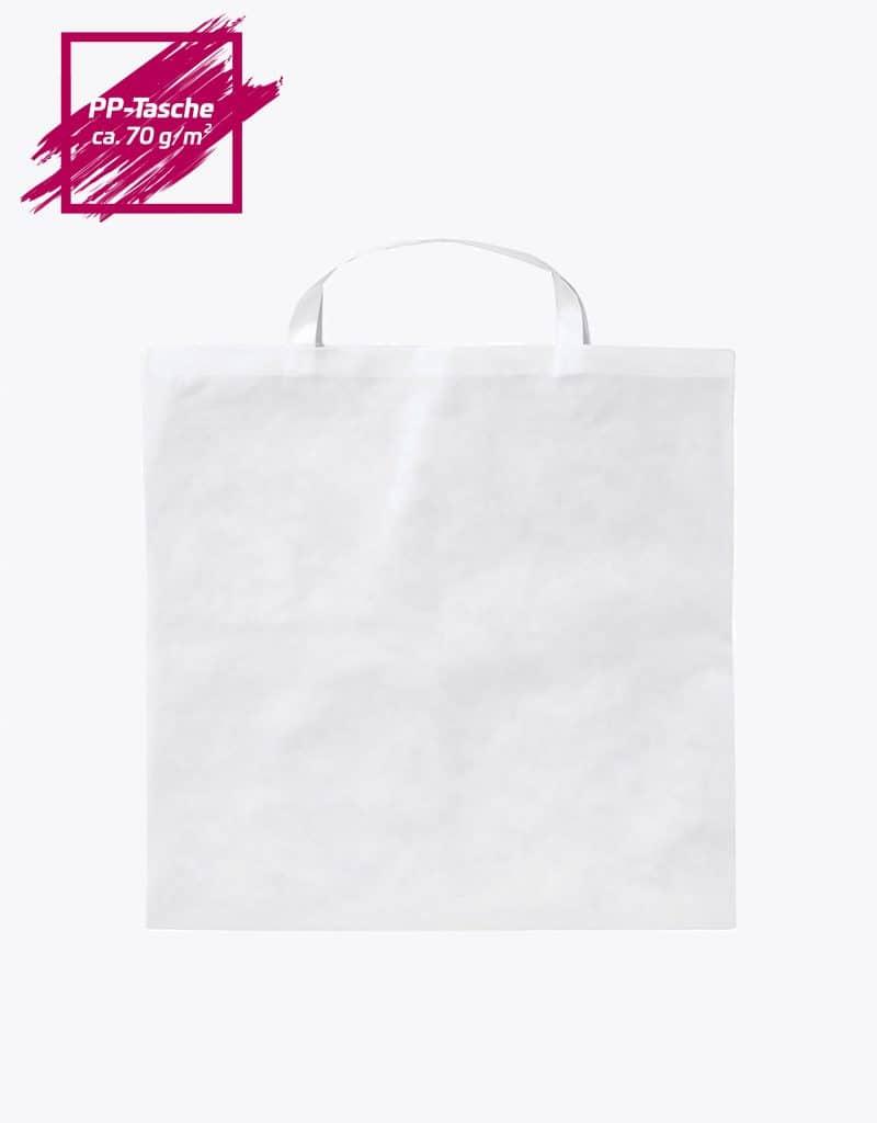 PP Tasche Quadratisch mit kurzen Henkel 50x50cm