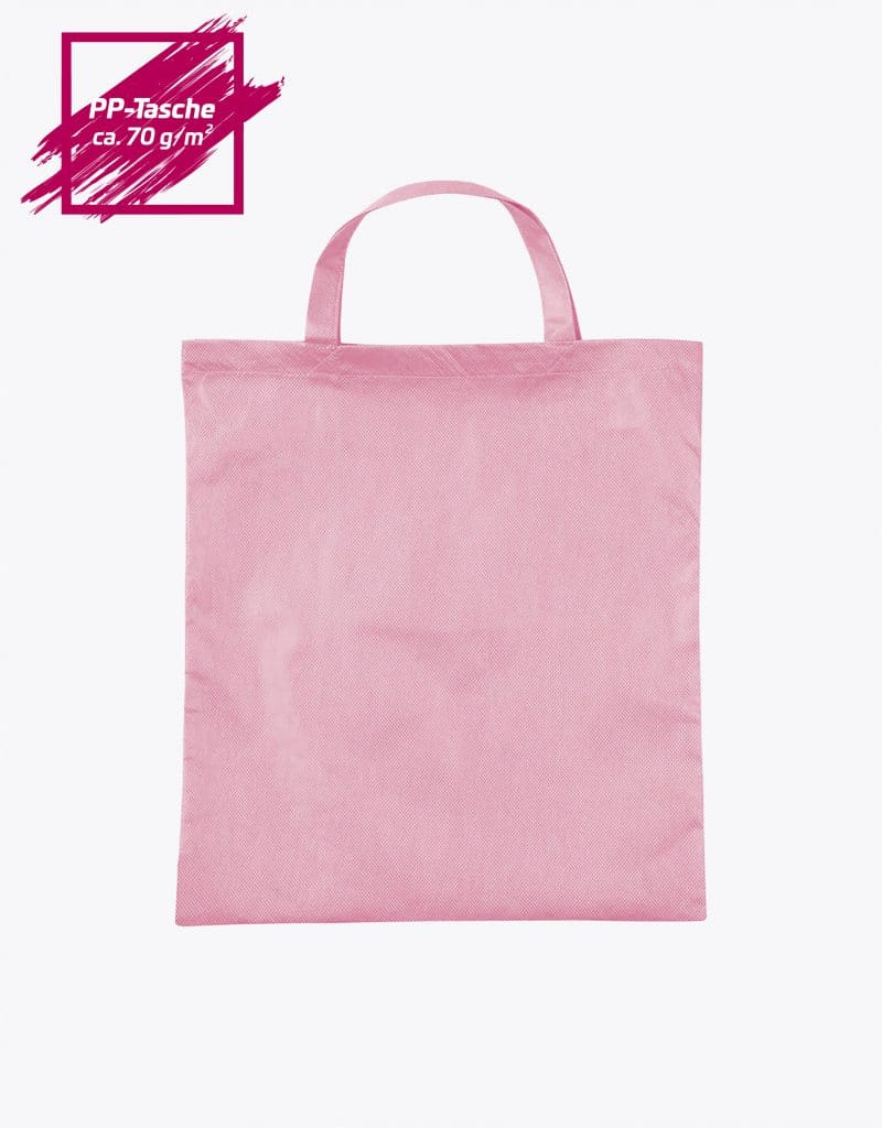 PP Tasche mit kurzen Henkeln 38x42cm