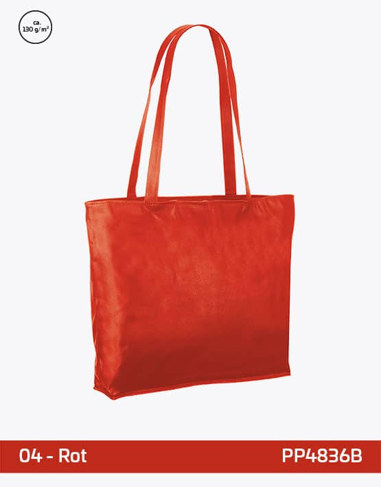 PP Tasche rot City-Bag 2 48 x 36 x 10 cm